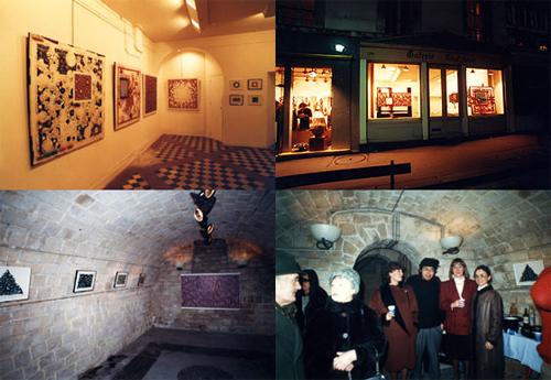 1986年 Galerie Marcel-lenoir/パリ
